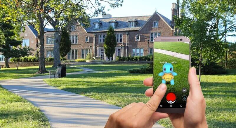 Computerspillets historie Pokemon Go